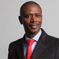 Portrait of Webster Mfebe